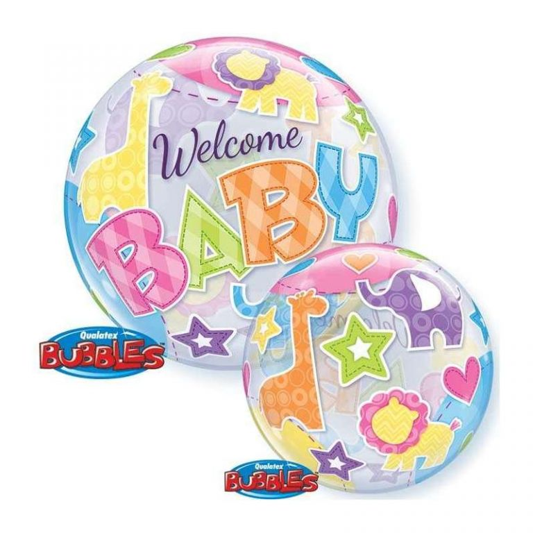 BUBBLE 22' WELCOME BABY ANIMALS