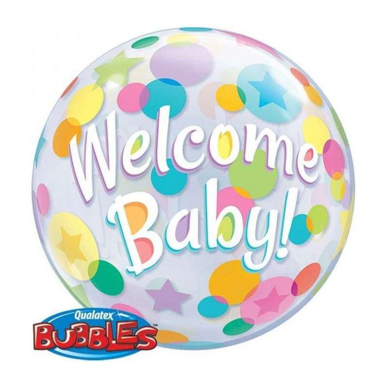 BUBBLE 22' WELCOME BABY