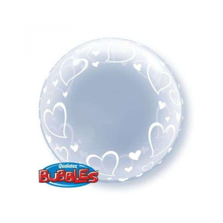 BUBBLE 24 DECO CUORI