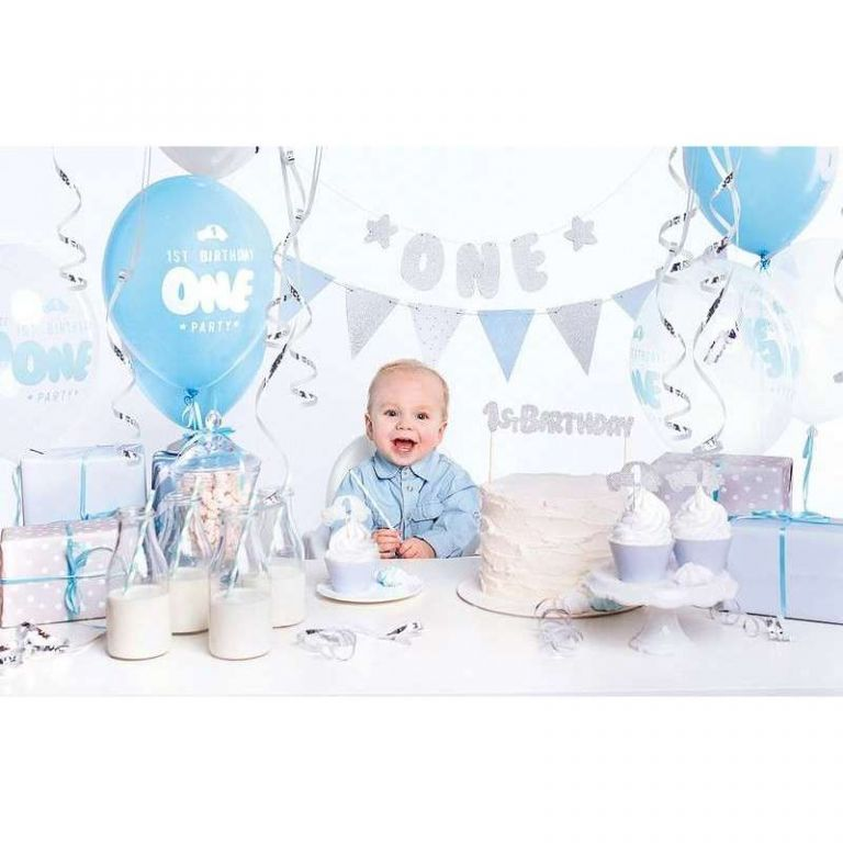 BOX 1ST BIRTHDAY BLUE