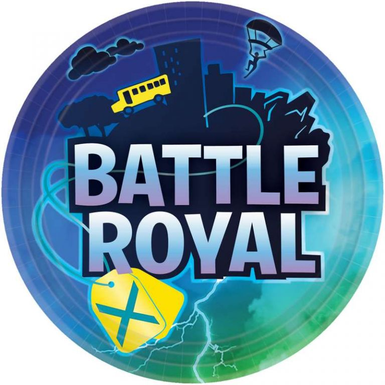PIATTO GRANDE FORTNITE BATTLE ROYAL 8 PEZZI