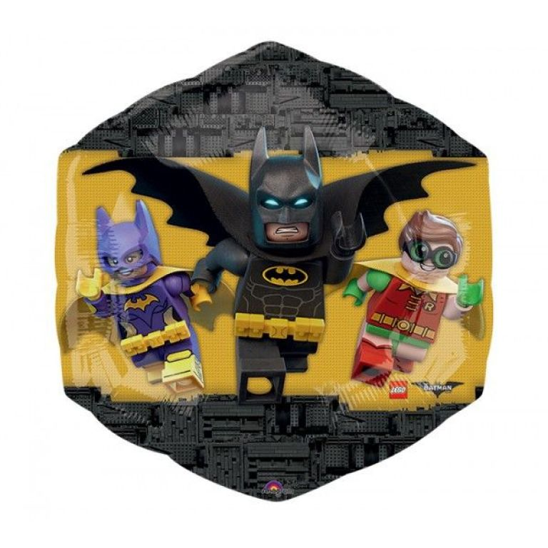 MYLAR SUPERSHAPE 23'x22' LEGOBATMAN