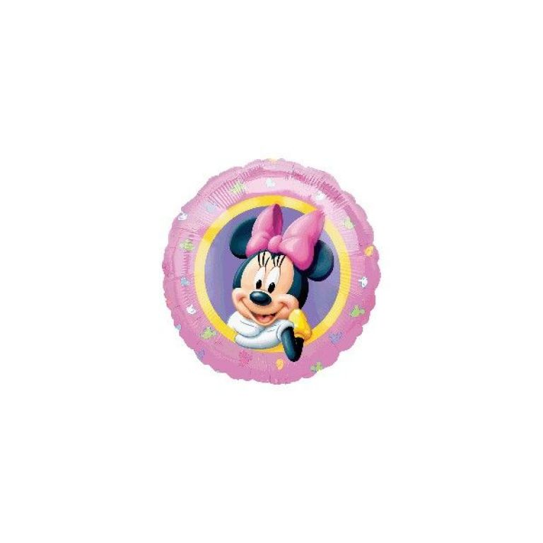 MYLAR TONDO 18 MINNIE