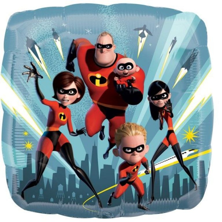 MYLAR18 INCREDIBLES