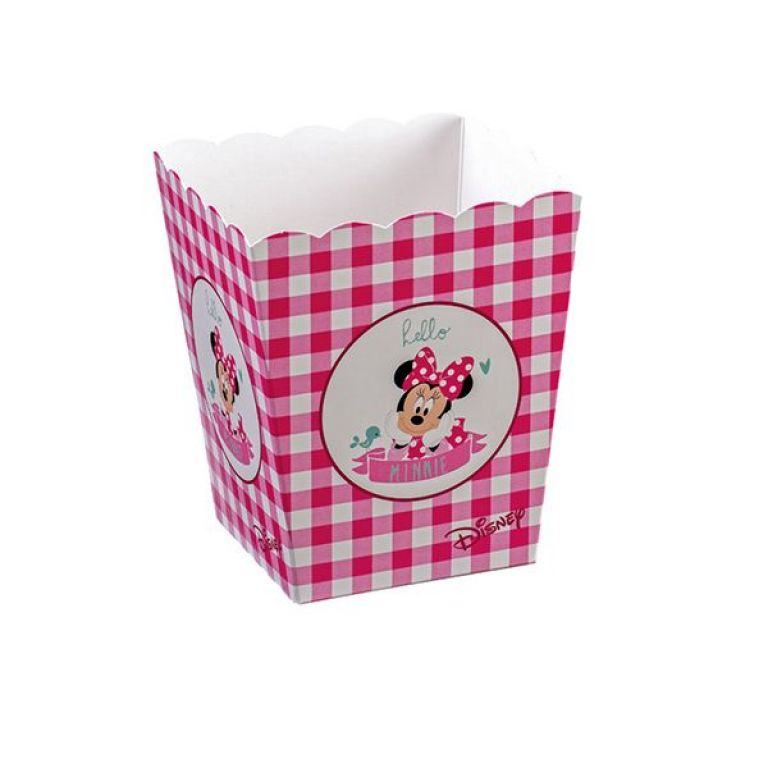 5 BOX PORTACARAMELLE/POPCORN MINNIE