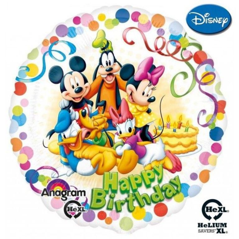 HAPPY BIRTHDAY DISNEY